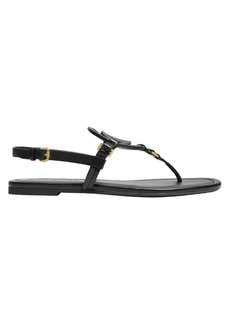 Coach Jeri Leather Thong Sandals