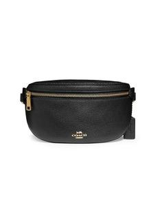 Coach Leather Belt Bag