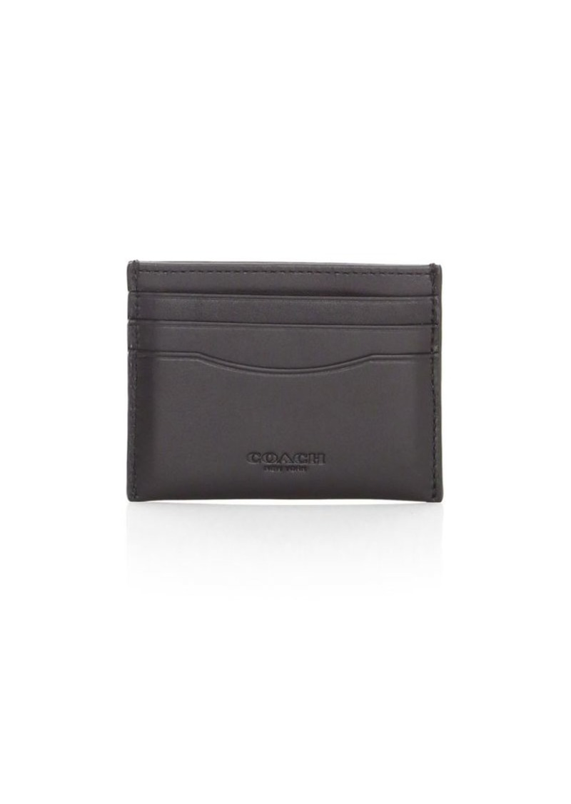 Coach Leather Card Case