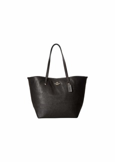 Coach Leather Large Street Tote