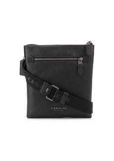Coach leather messenger bag