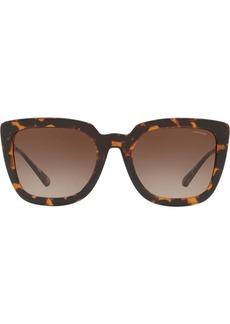 Coach logo chain sunglasses