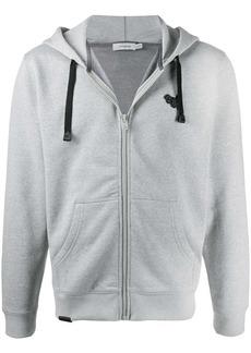 Coach logo drawstring hoodie