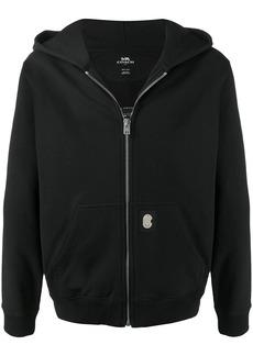 Coach logo-print hoodie