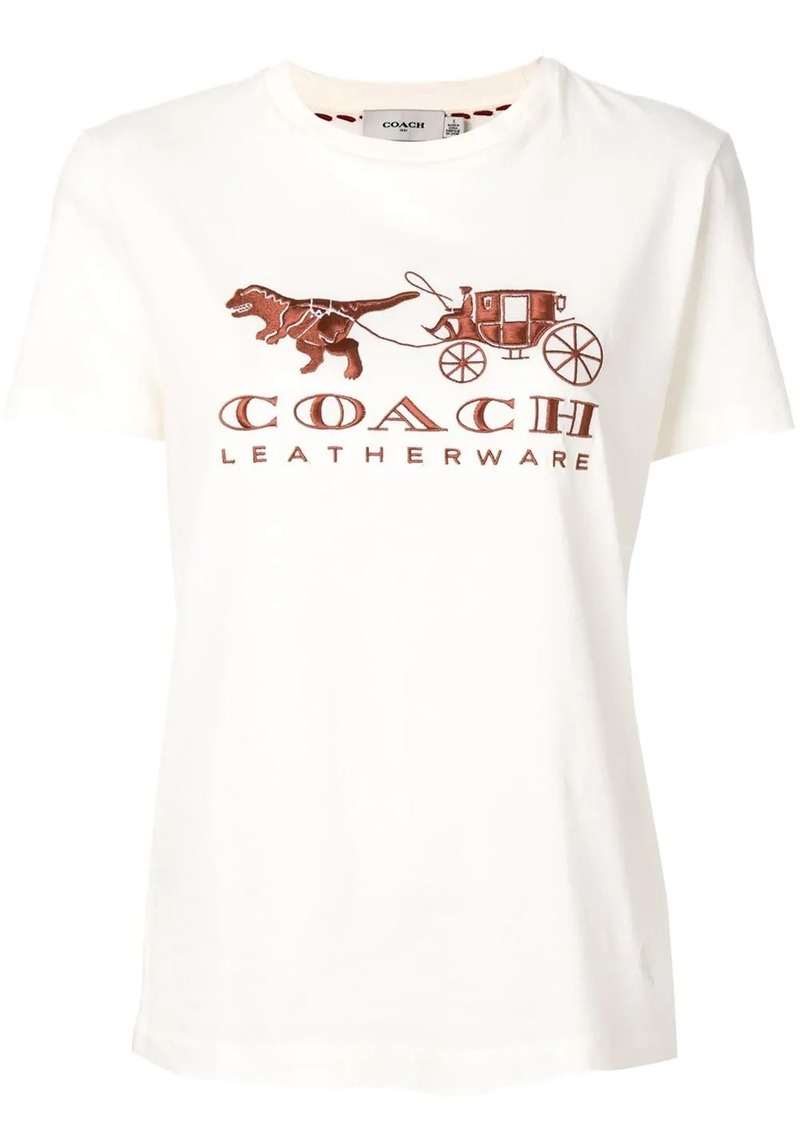 Coach embroidered logo T-shirt
