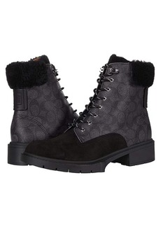 Coach Lorimer Coated Canvas Bootie