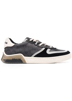 Coach low-top lace-up trainers