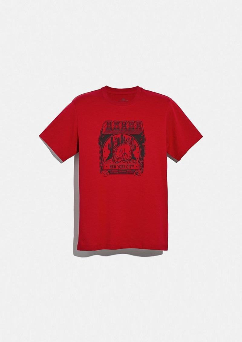 Coach lunar new year t-shirt