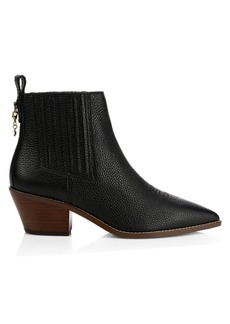 Coach Melody Leather Western Booties