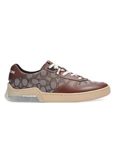 Coach Men's Citysole Signature Jacquard & Leather Court Sneakers