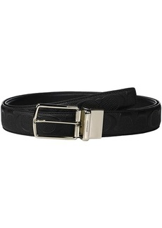 Coach Modern Harness Cut to Size/Reversible Signature Crossgrain Belt