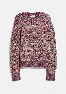Coach multi crewneck