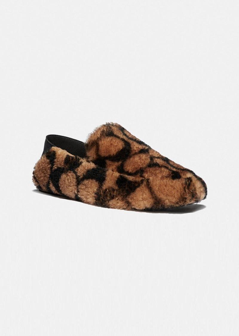 Coach holly slipper