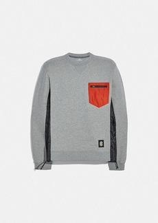 Coach nylon sweatshirt