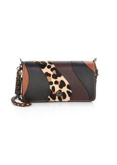 Coach Patchwork Leopard Leather Crossbody Bag