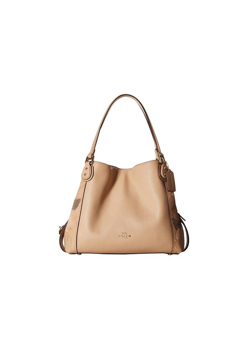 Coach Patchwork Tea Rose E 31 Shoulder Bag