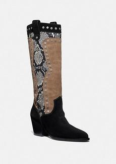 Coach payton western boot