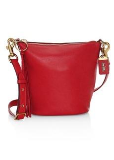 Coach Pebble Leather Duffle Bag