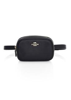 Coach Pebbled Leather Belt Bag