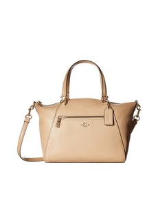 Coach Pebbled Prairie Satchel