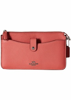 Coach Pop Up Messenger in Polished Pebble Leather