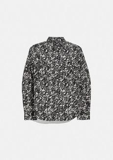 Coach printed shirt
