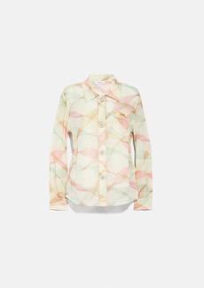 Coach printed uptown shirt
