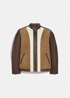 Coach racer jacket