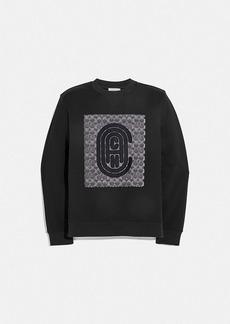 Coach retro signature sweatshirt