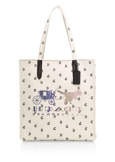 Coach Reverse Rexy & Carriage Tote