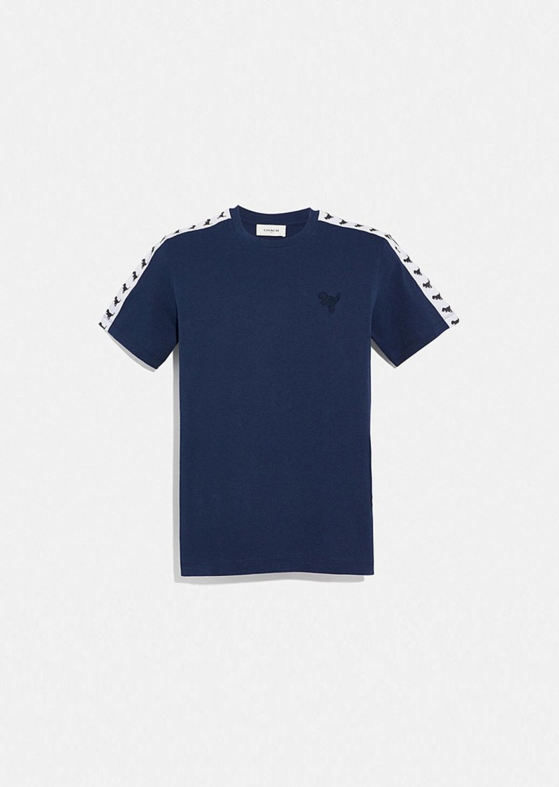 Coach rexy tape t-shirt