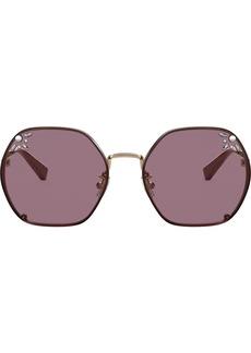 Coach rhinestone-embellished sunglasses