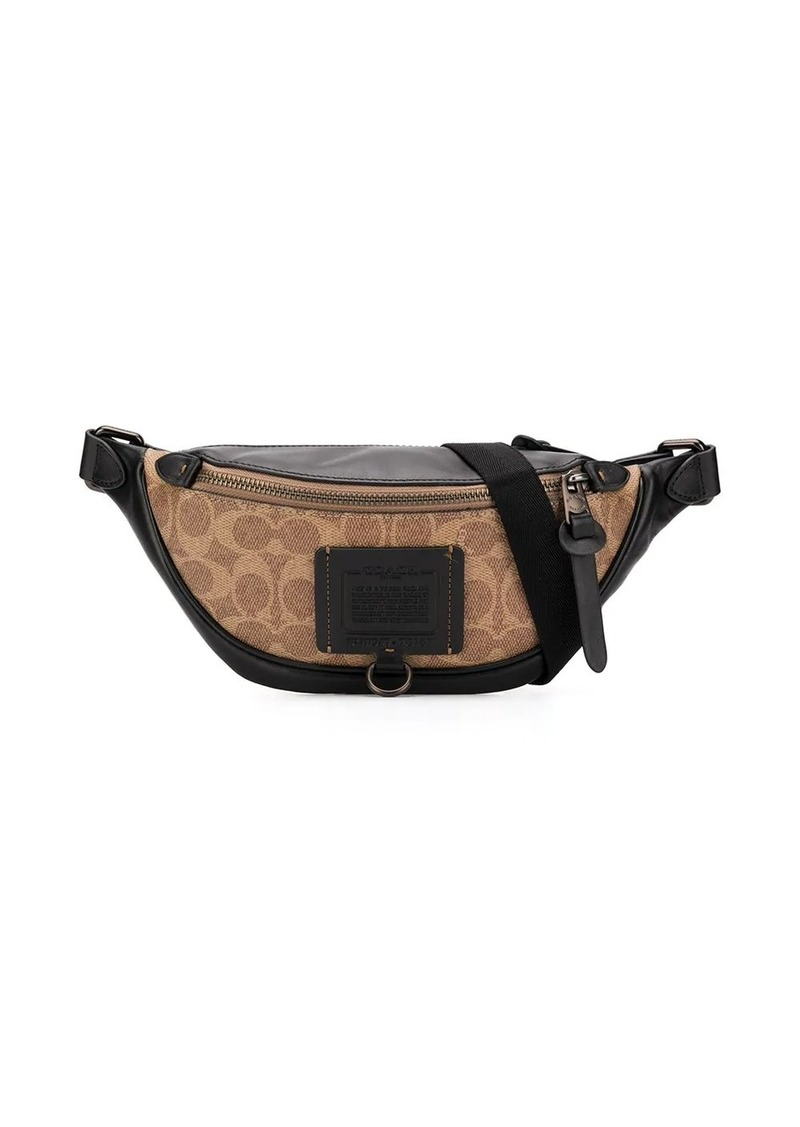 Coach Rivington logo-print belt bag