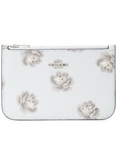 Coach rose print card case
