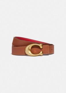 Coach signature buckle reversible belt, 32mm