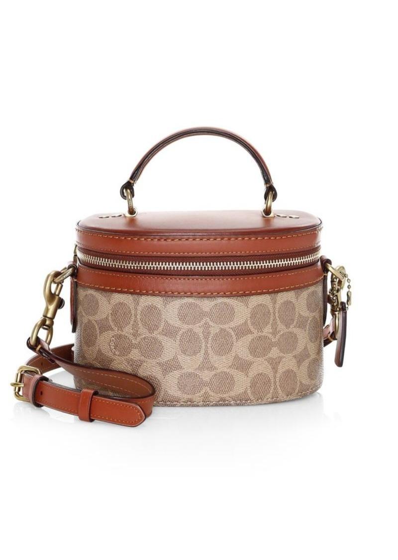 023498056084 Coach Signature Canvas Trail Bag