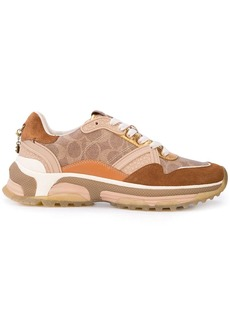 Coach signature runner sneakers