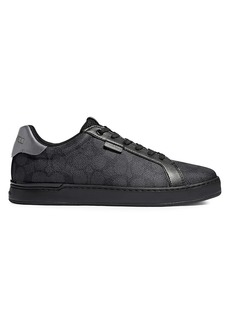 Coach Signature Tennis Cup Sole Low-Top Sneakers
