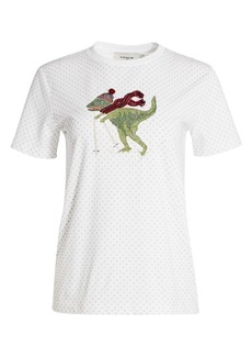 Coach Skiing Rexy Polka Dot -Shirt