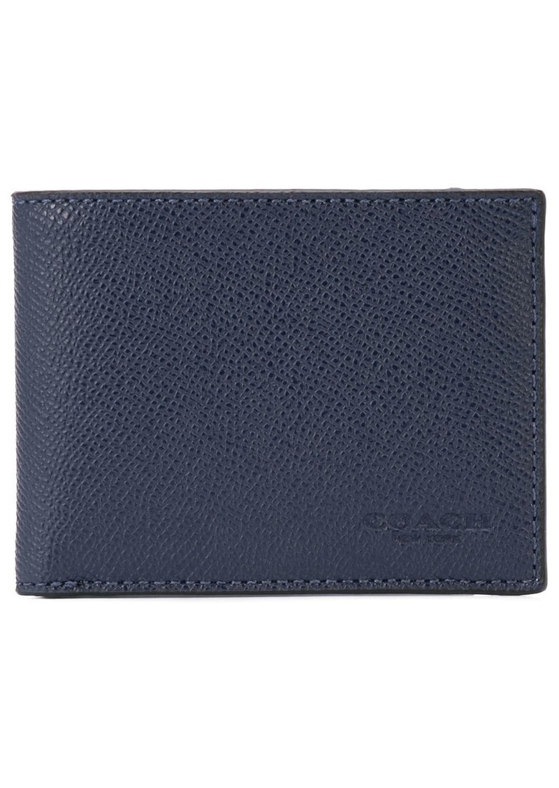 Coach Slim Billfold in Crossgrain