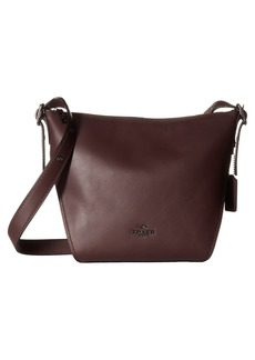 Coach Small Dufflette in Natural Calf Leather