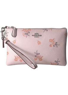 Coach Small Wristlet in Floral Print