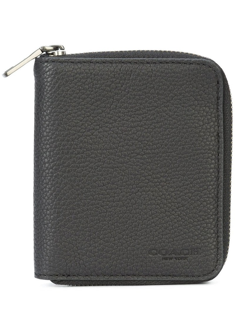 Coach small zip-around wallet