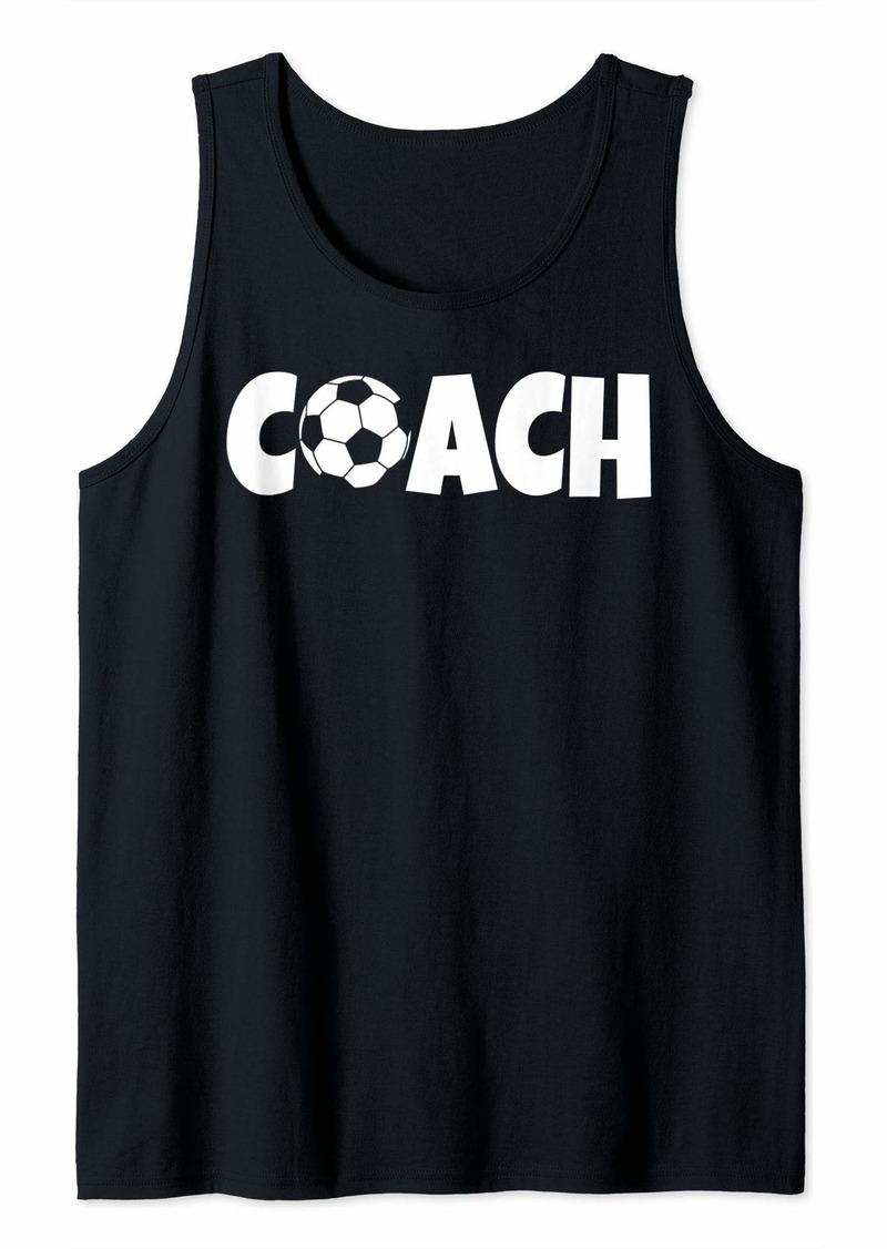 Soccer Coach Lead Mentor Coaching  Tank Top