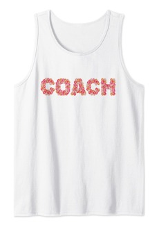 Sports Life Education Mentor Feminine COACH Tank Top