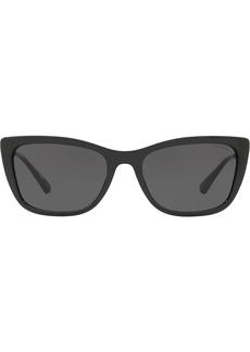 Coach square logo chain sunglasses