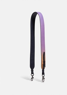 Coach strap with ombre