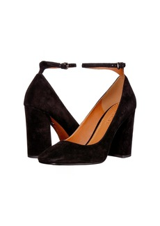 Coach Suede 95mm Ankle Strap Pump