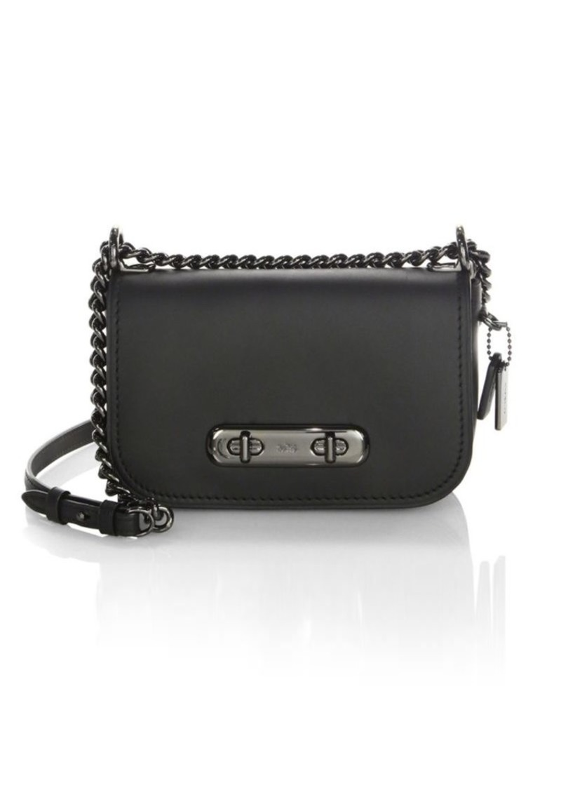 8a72b725 Swagger Leather Crossbody Bag