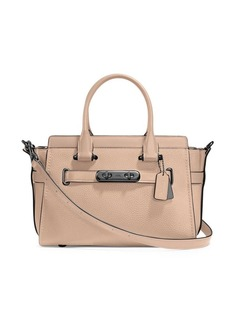 Coach Swagger Leather Satchel